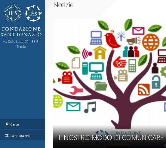 Trento. La Fondazione Sant'Ignazio lancia il nuovo sito