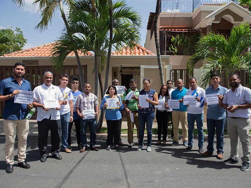 I gesuiti chiedono che cessino le violenze in Nicaragua, e prevalga la giustizia